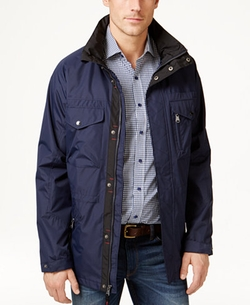 Izod - Four-Pocket Anorak Coat