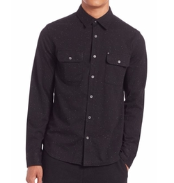 Madison Supply - Speckled Cotton Sportshirt