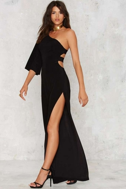 Nasty Gal  - Love Fool Asymmetrical Jumpsuit