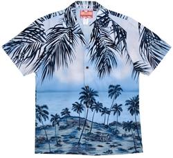 Alohawears Clothing Comapany - Coconut Island Hawaiian Aloha Shirt