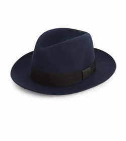 Barbisio  - Felted Rabbit Fedora Hat