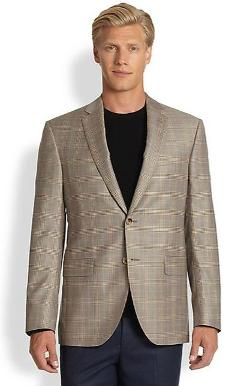Saks Fifth Avenue  - Collection Black Label Wool Blazer