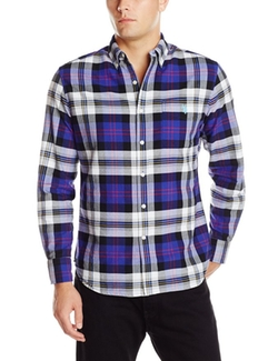 U.S. Polo Assn. - Plaid Oxford Button Down Collar Shirt