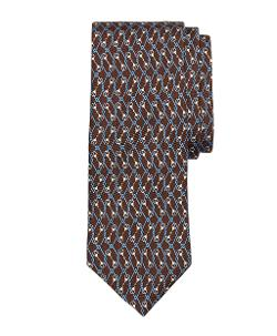 Brooks Brothers - Diamond Link Print Tie
