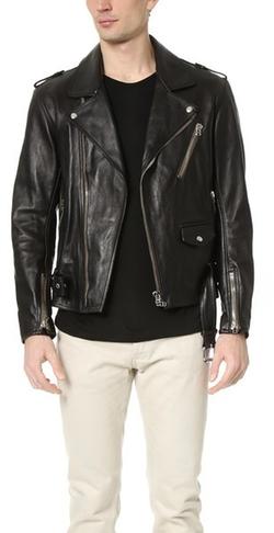 3.1 Phillip Lim - Moto Jacket with Multi Zip Pocket