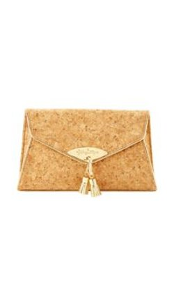 Everglade  - Cork Envelope Clutch Bag