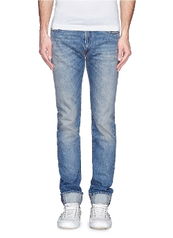 Maison Margiela - Roll Cuff Selvedge Jeans