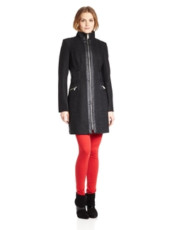 Miss Sixty - Textured Zip-Front Jacket