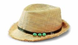 San Diego Hat Company - Raffia Fedora Hat