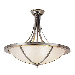 Bel Air  - Cross Trim Semi-Flush Mount Lighting