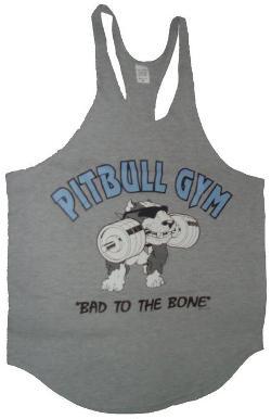 Pitbull Gym  - Mens Stringer Tank Top