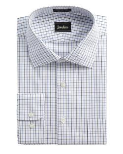 Neiman Marcus  - Non-Iron Check Dress Shirt