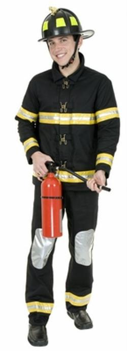 Candy Apple Costumes - Adult Fireman Costume