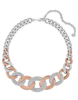 Swarovski - Two-Tone Link Necklace