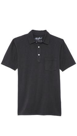 Hartford  - Slub Jersey Short Sleeve Polo
