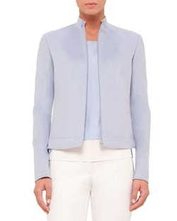 Akris Punto - Zip-Front Long-Sleeve Jacket