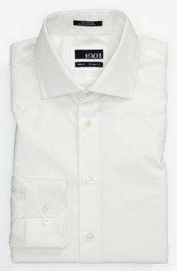 1901 - Cotton Trim Fit Dress Shirt