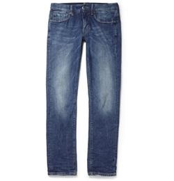 Incotex - Slim-Fit Washed-Denim Jeans