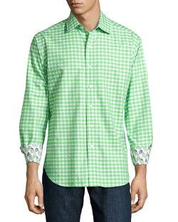 Robert Graham  - Truckin Check Sport Shirt