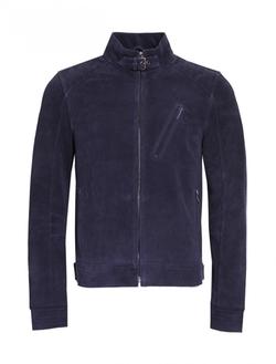 Scp - Suede Moto Jacket