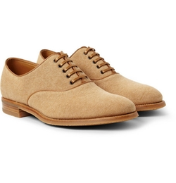 John Lobb  - Savannah Canvas Oxford Shoes