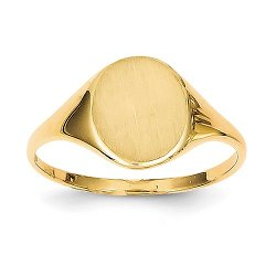 Goldia - Gold Signet Ring