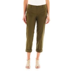 Liz Claiborne - Cargo Cropped Pants