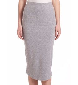 Monrow - Midi-Length Pencil Skirt