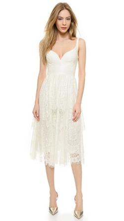 Lover - Heather Sweetheart Dress