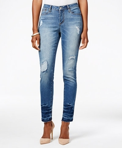 Earl Jeans - Ripped Medium Wash Skinny Jeans