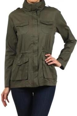 Vivo Clothing - Military Cargo Jacket