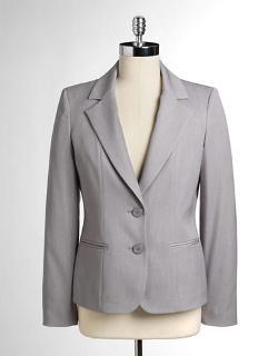 Anne Klein - 2-Button Suit Jacket
