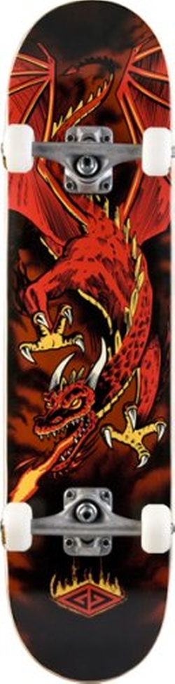 Powell-Peralta - Golden Dragon Flying Dragon Complete Skateboard