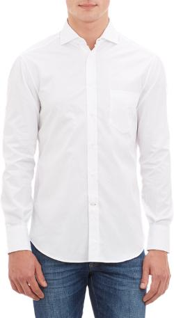 Brunello Cucinelli - Solid Dress Shirt