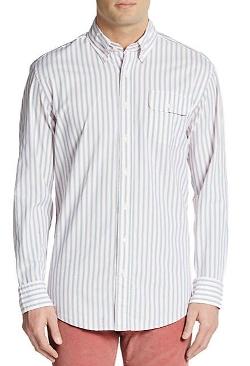 Gant by Michael Bastian - Striped Oxford Cotton Shirt