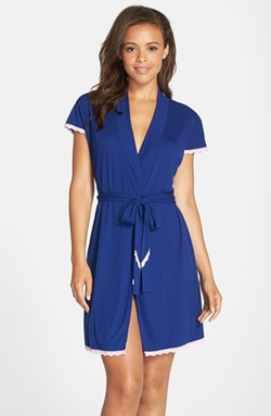 Betsey Johnson  - Rib Knit Robe