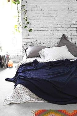 4040 Locust  - Waffled Bed Blanket