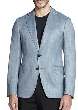 Armani Collezioni  - Solid Textured Sportcoat