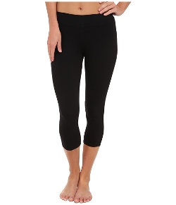 Three Dots - Cotton Stretch Cropped Leggings