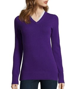 Hayden  - Cashmere V-Neck Sweater