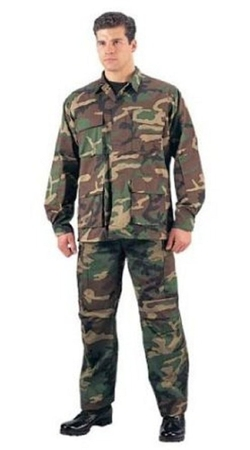 Galaxy Army Navy  - Woodland Camouflage BDU Uniform