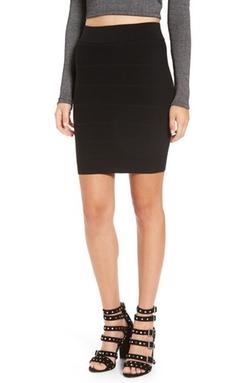 Leith - Badage Miniskirt
