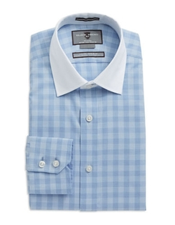 Black Brown 1826 - Checkered Dress Shirt