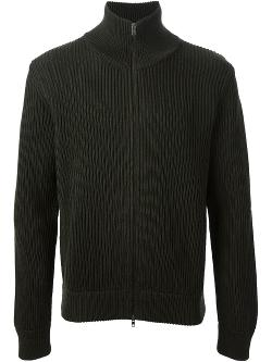 Maison Martin Margiela  - Ribbed Zip Sweater