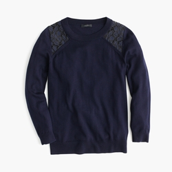 J.Crew - Tippi Lace Sweater