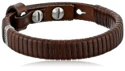 Fossil  - Wrapped Leather Bracelet