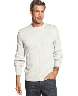 John Ashford  - Ribbed Cotton Sweater