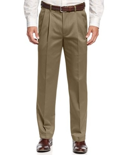 Perry Ellis - Double Pleated Chino Pants