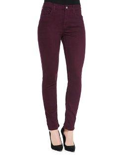 JEN7 - Sateen-Twill Skinny Jeans