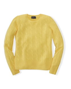 Ralph Lauren - Cable-Knit Cashmere Sweater